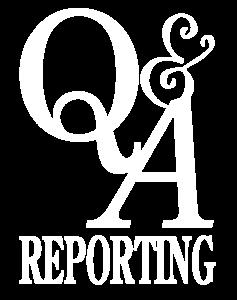 Q&A White Logo